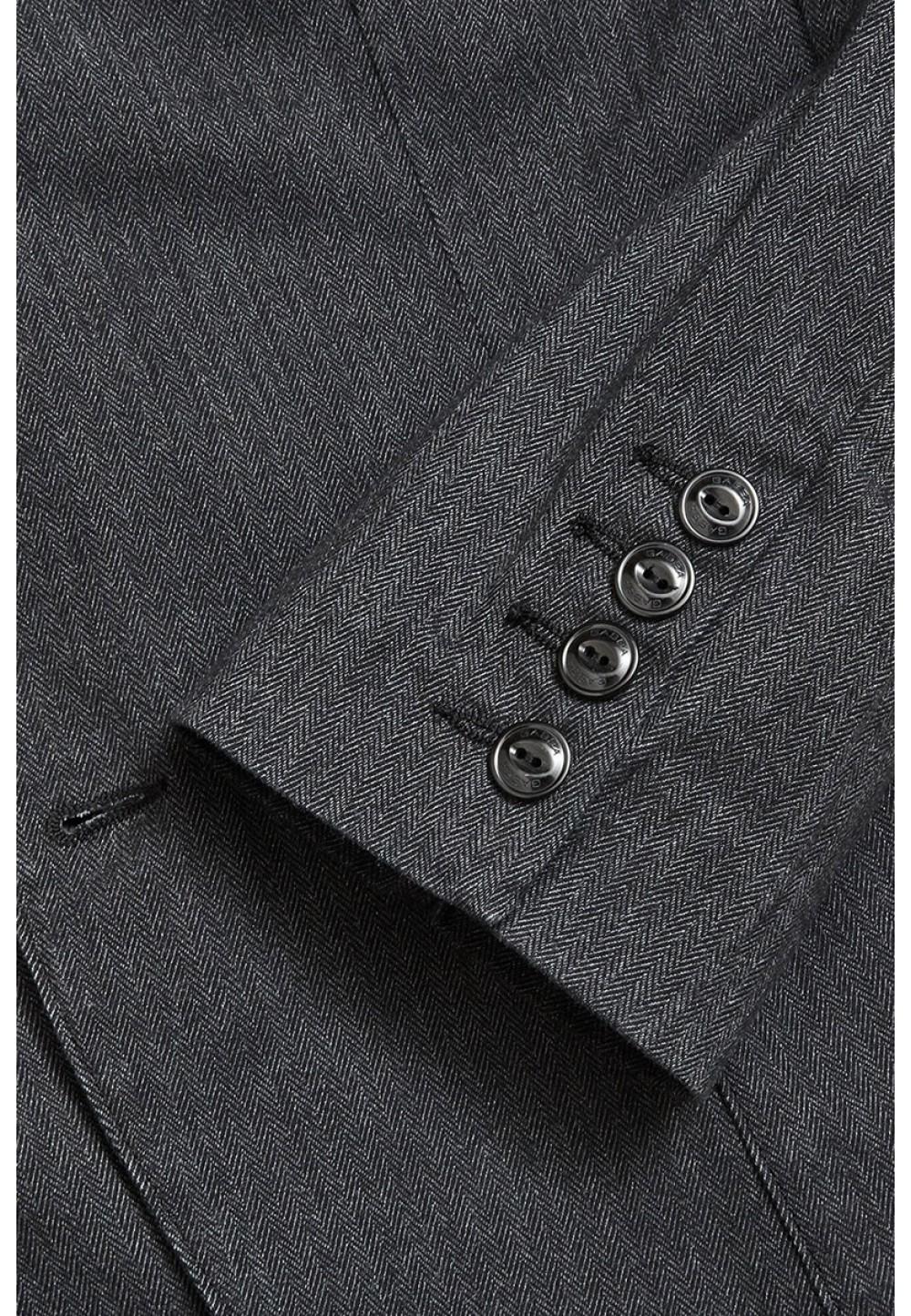 Скорочений чоловічий піджак