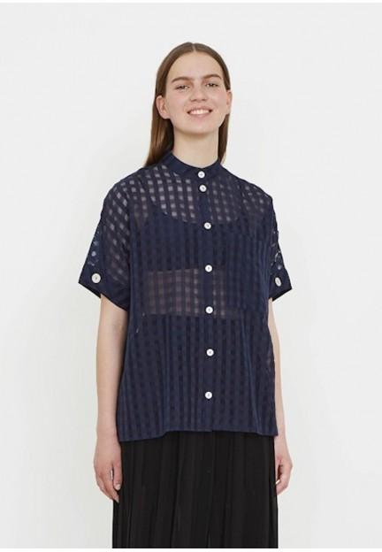 Легка блуза в клітку