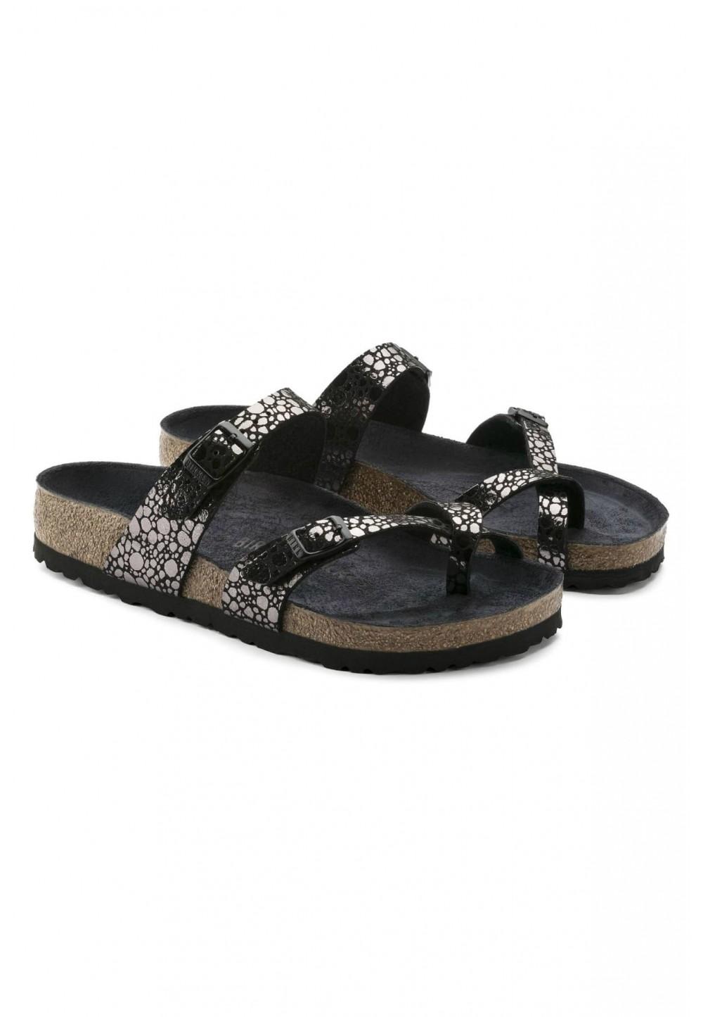 Оригинальные чёрные сандалии