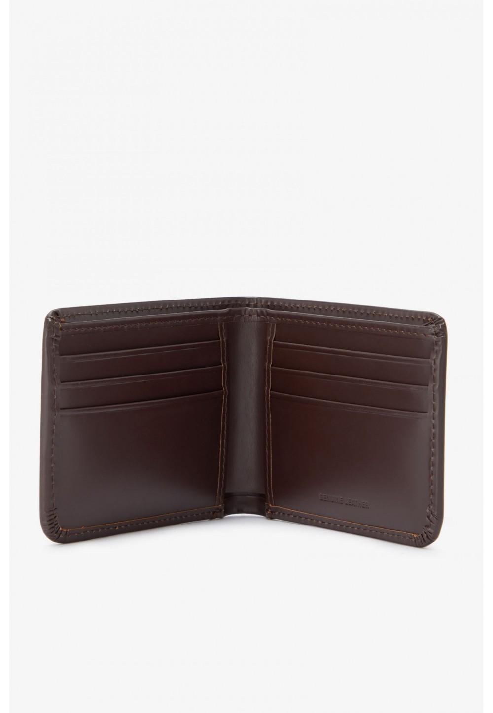 Мужской бумажник из матовой кожи