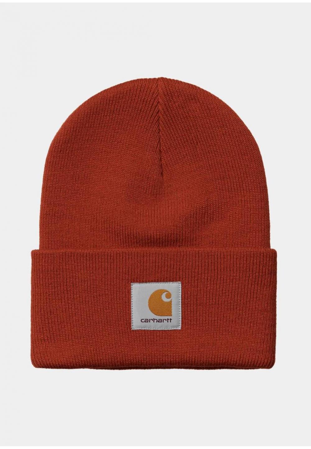 Яскрава помаранчева шапка