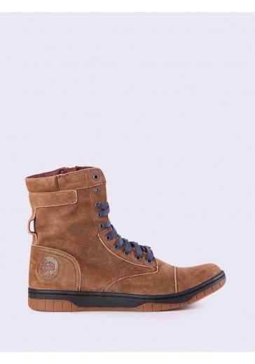 Коричневі черевики BASKET BUTCH ZIPPY