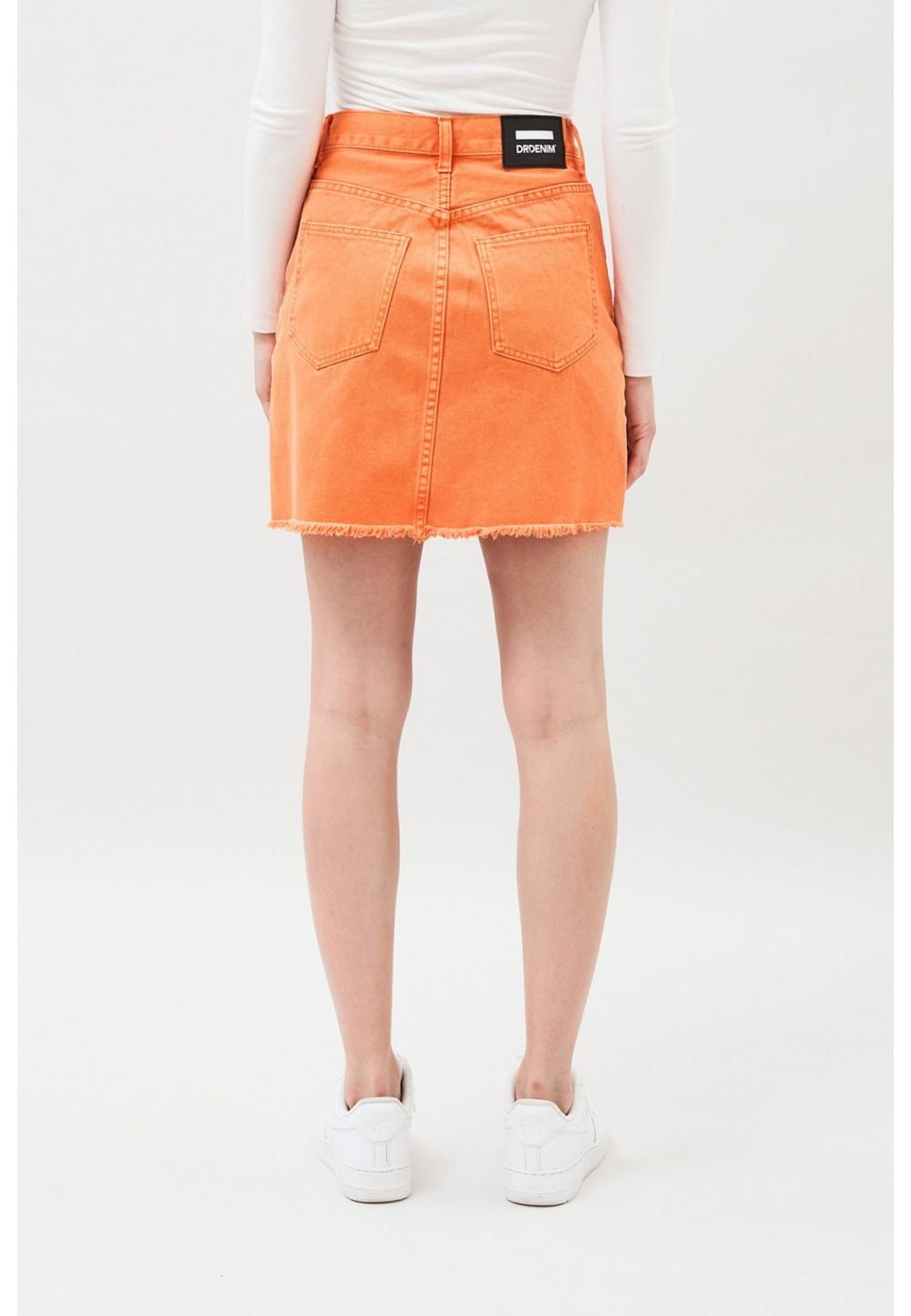 Джинсовая короткая юбка