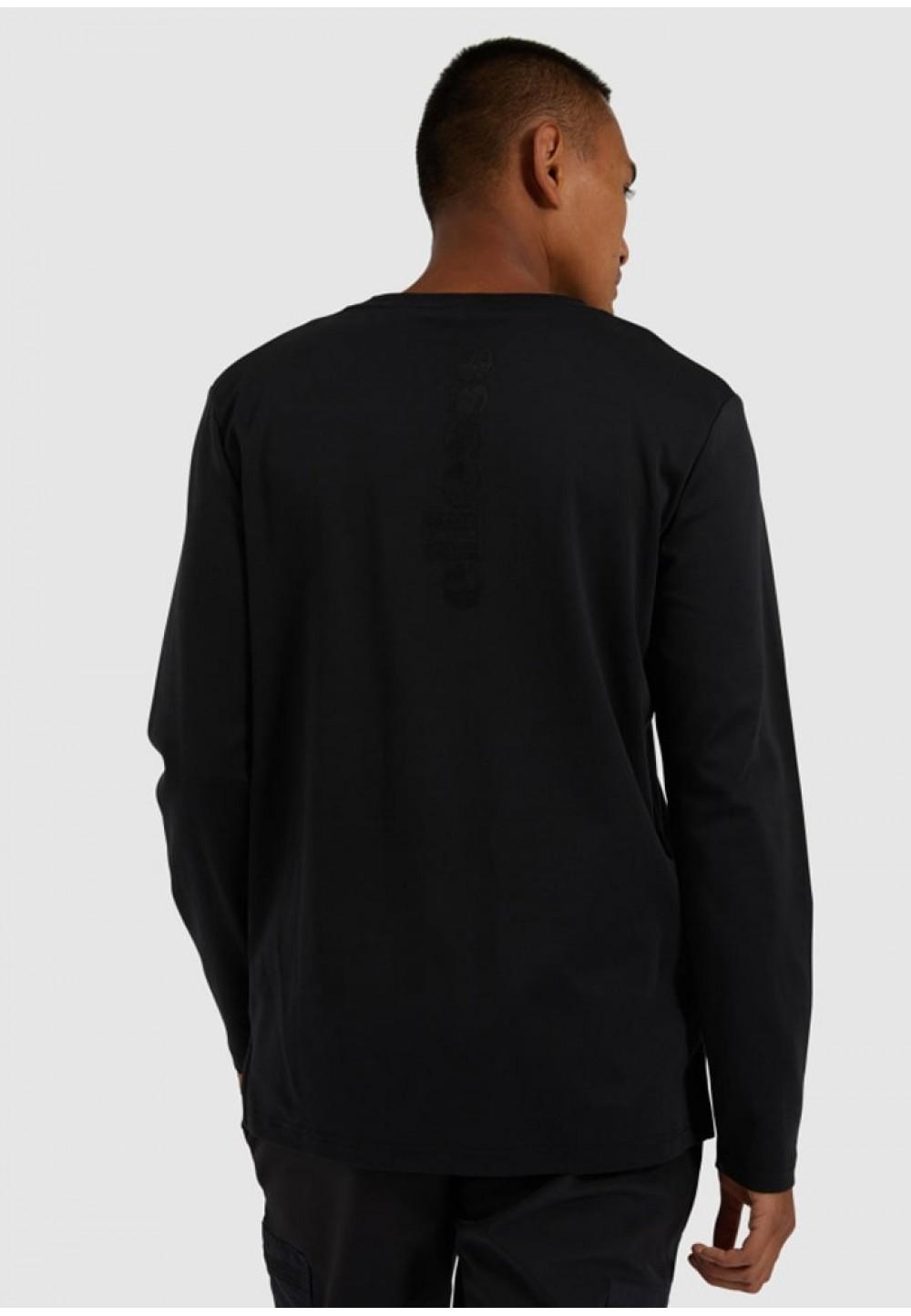 Легкая черная мужская кофта