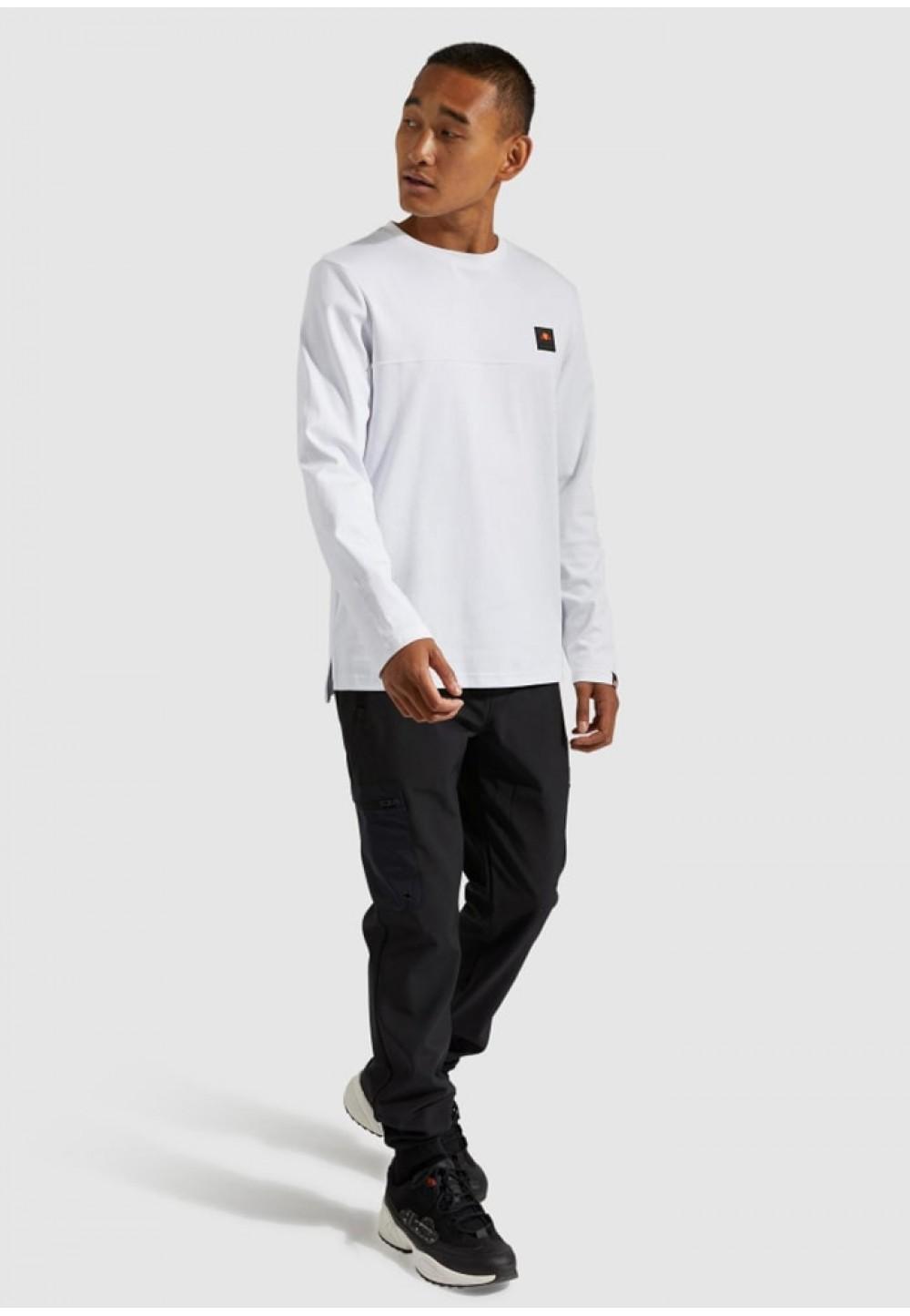 Легкая мужская белая кофта