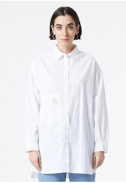 Белая женская рубашка Vanga
