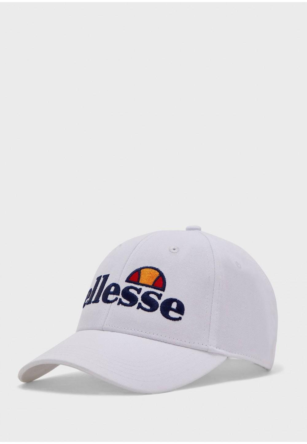 Белая бейсболка с лого
