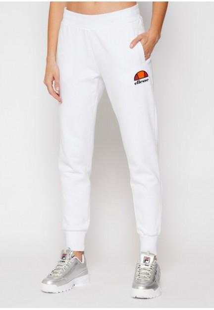 Белые спортивные брюки из хлопка