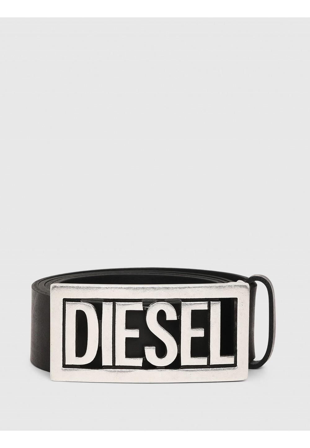Кожаный ремень с пряжкой Diesel