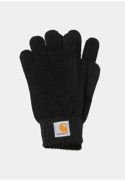 Теплі в'язані рукавички