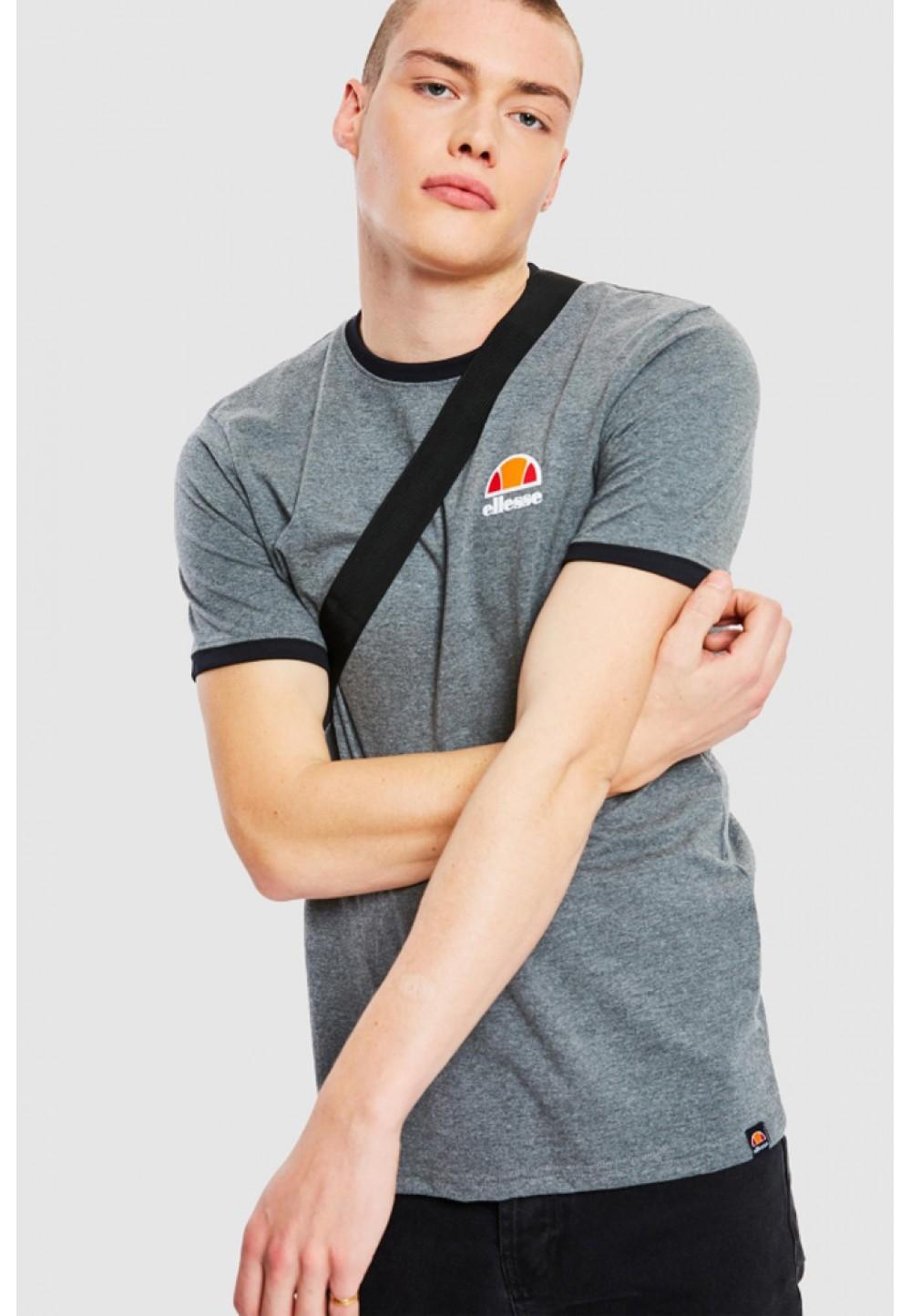 Серая хлопковая футболка