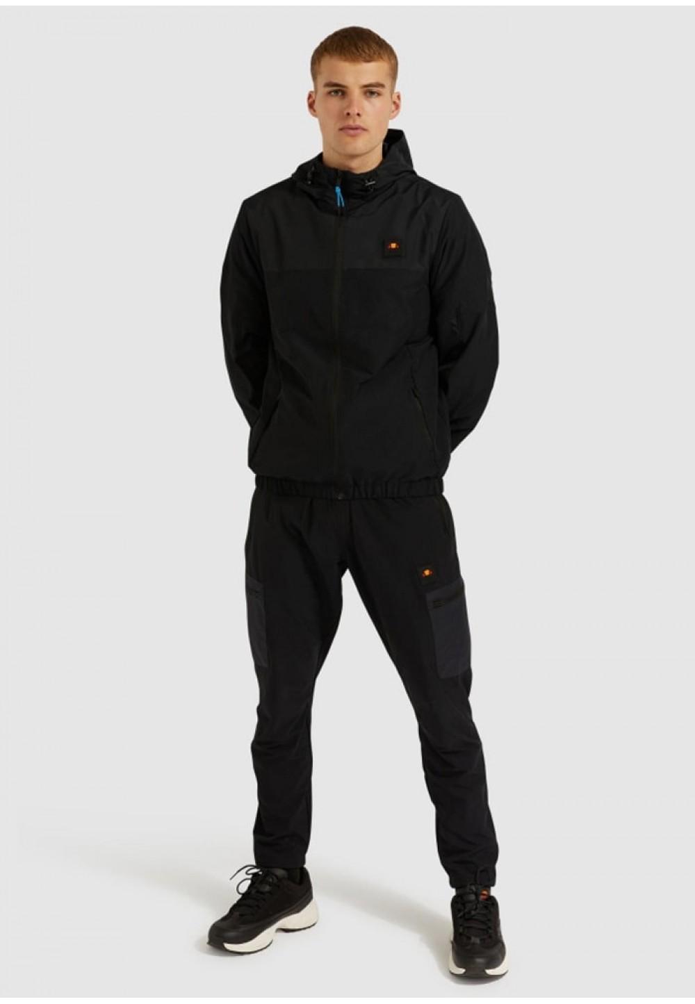 Мужская ветровка черного цвета