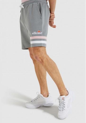 Сірі шорти з контрастними смужками