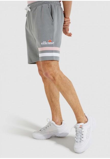 Серые шорты с контрастными полосками