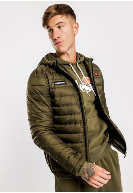 Легкая мужская куртка цвета хаки