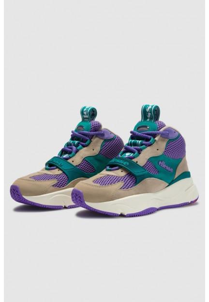 Бежеві замшеві кросівки