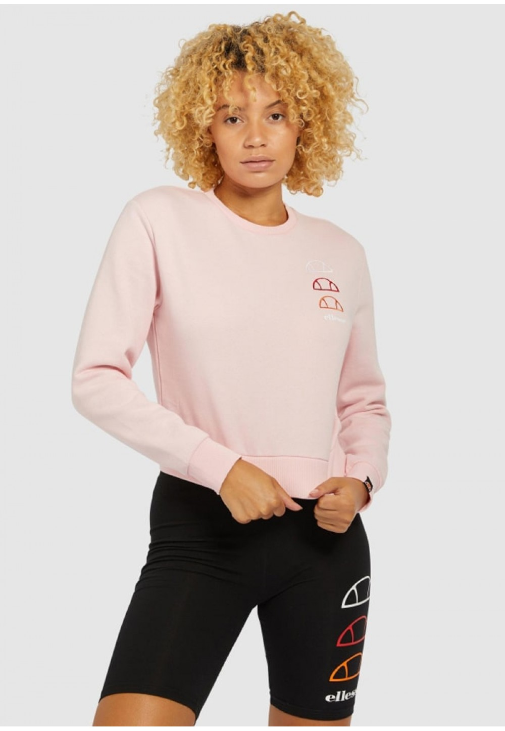 Нежно-розовый свитшот