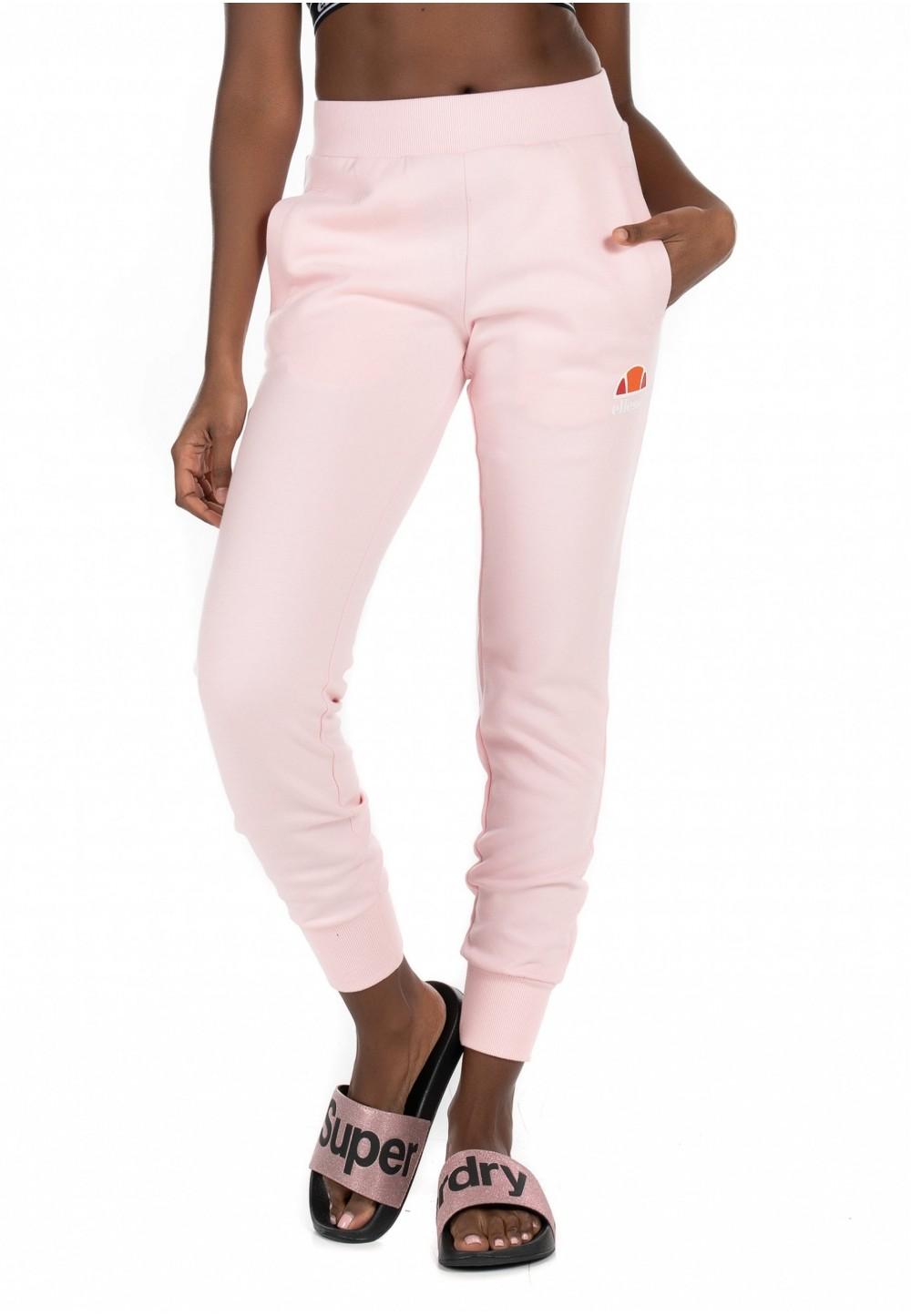 Ніжно-рожеві спортивні штани на манжетах