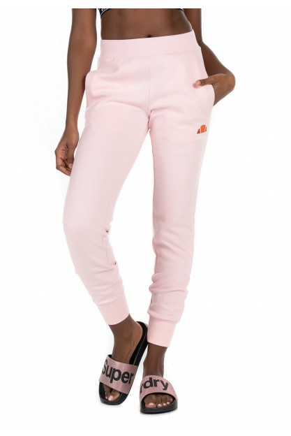 Нежно-розовые спортивные брюки на манжетах