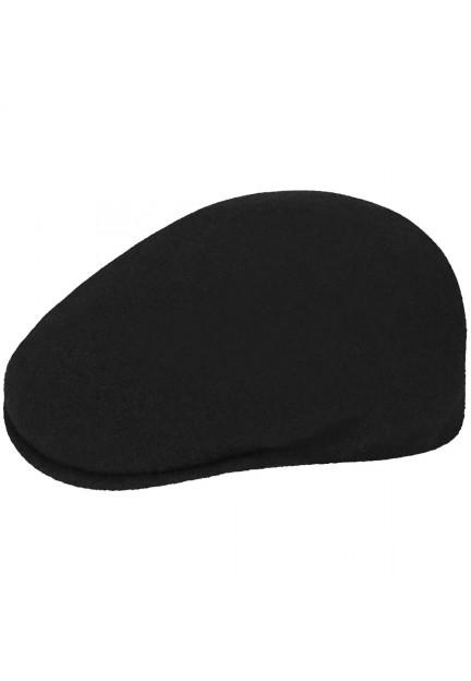 Кепка Kangol Wool 504 у чорному кольорі