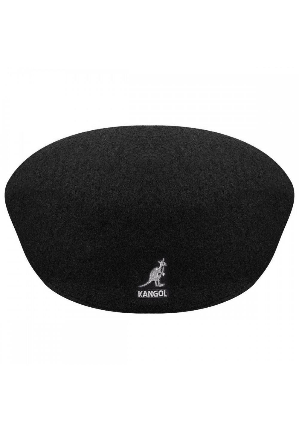 Кепка Kangol Wool 504 в черном цвете