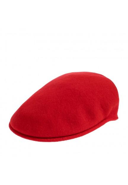 Стильная красная кепка Kangol Wool 504