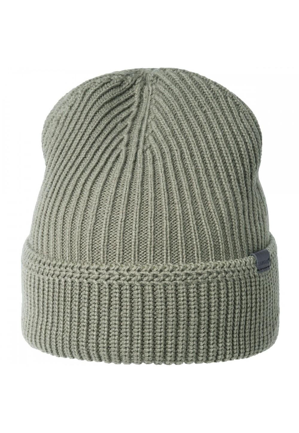 Аккуратная стильная шапка с манжетом
