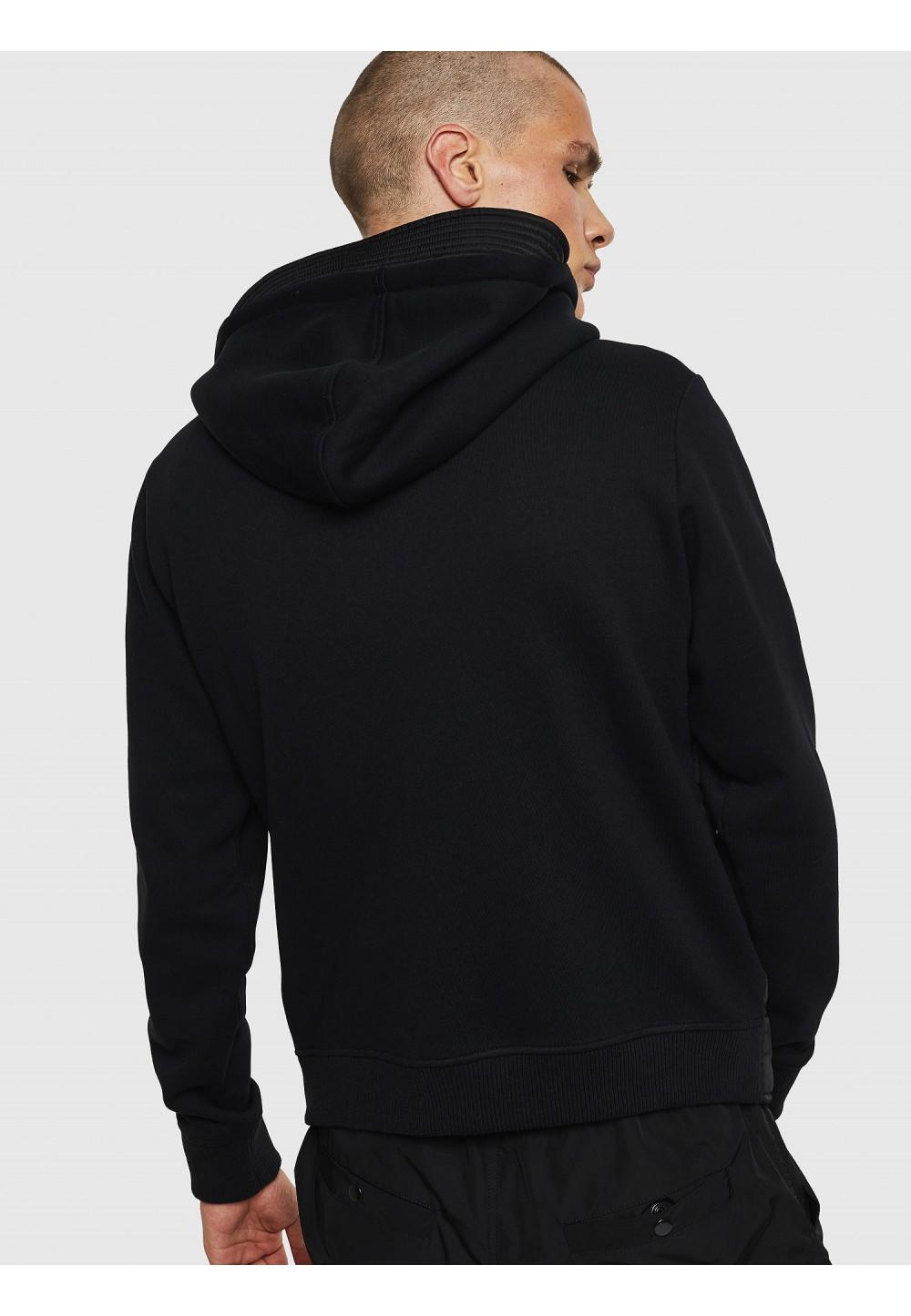 Черная куртка S-BELLA с капюшоном