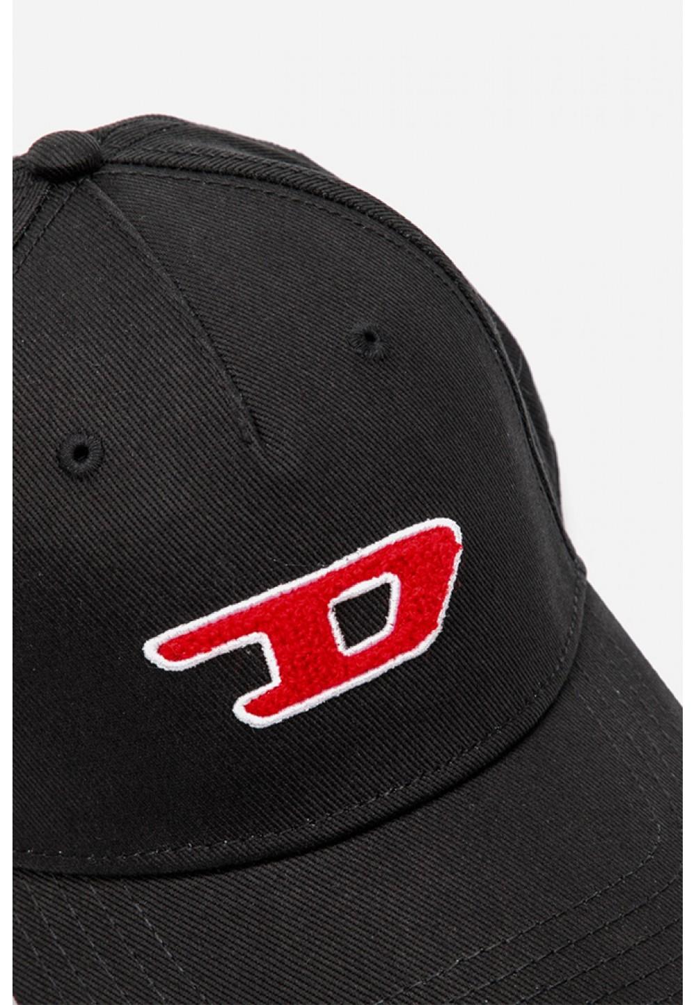 Черная бейсболка с логотипом