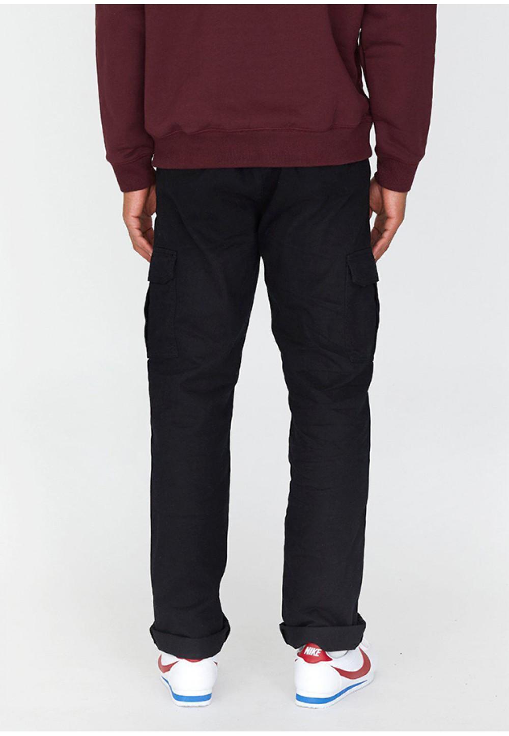 Чорні брюки з накладними кишенями Dash Cargo