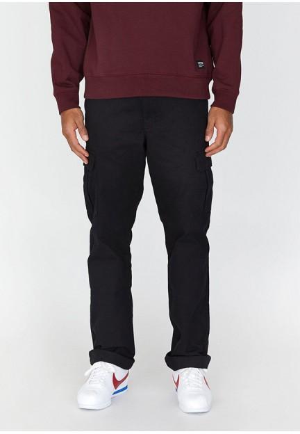 Черные брюки с накладными карманами Dash Cargo