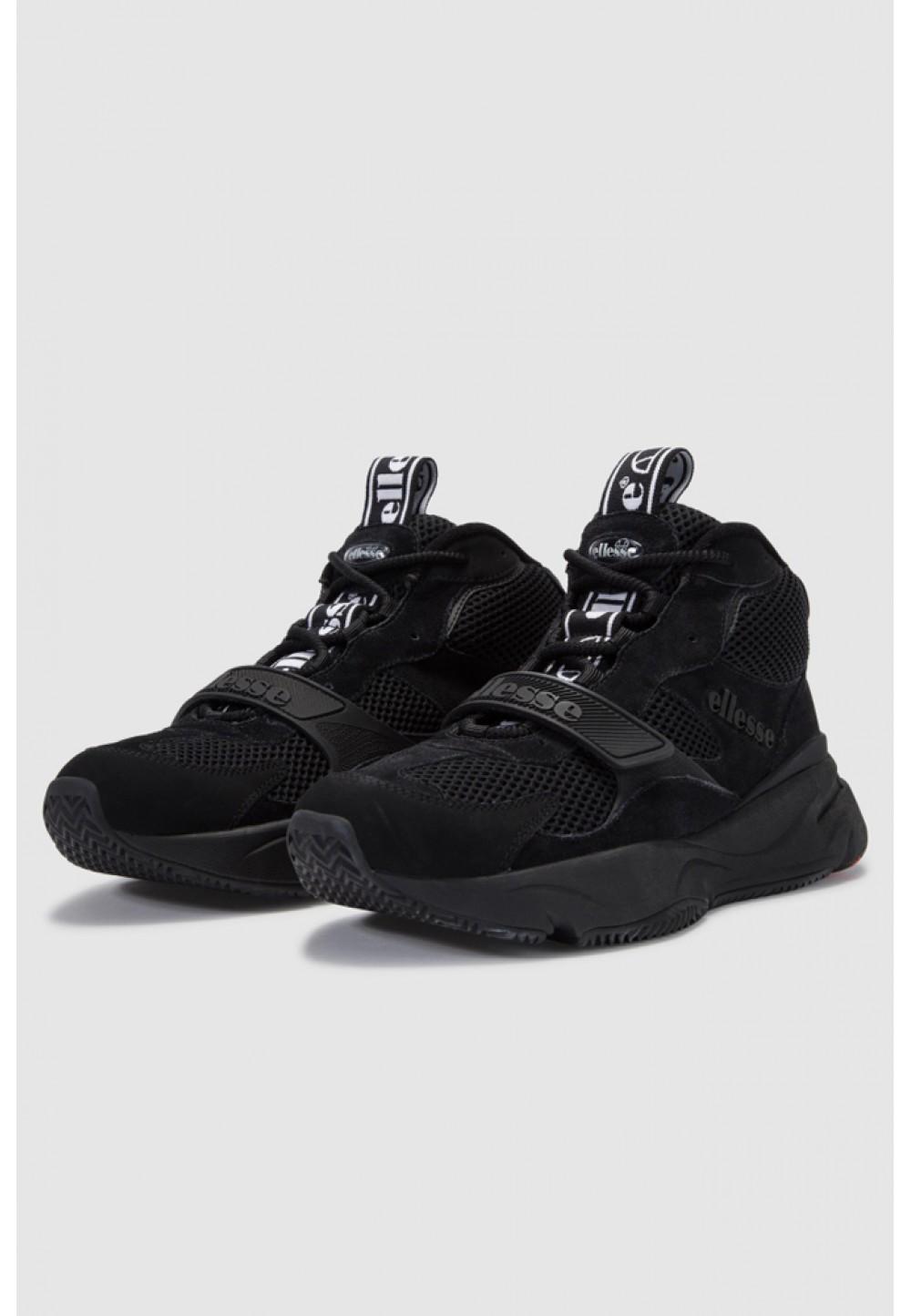 Черные замшевые кроссовки