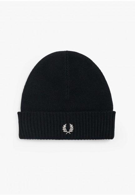 Чорна чоловіча шапка Fred Perry