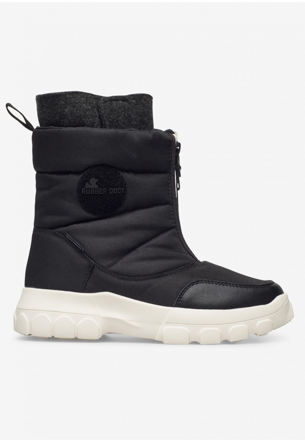 Черные ботинки Rubber Duck