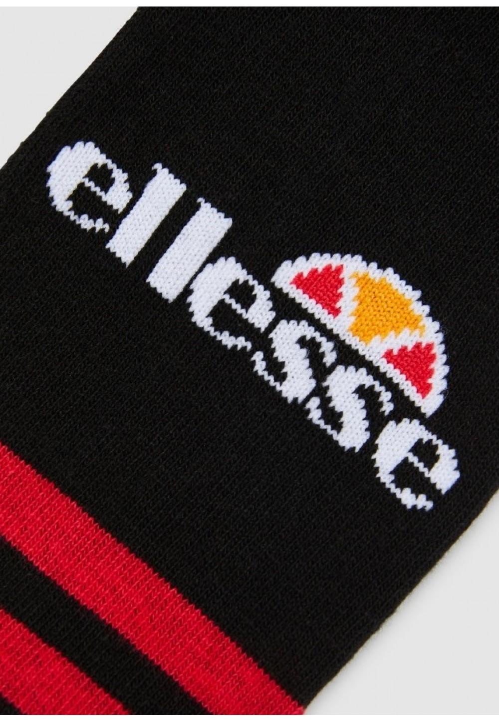 Чорні шкарпетки в упаковці з лого