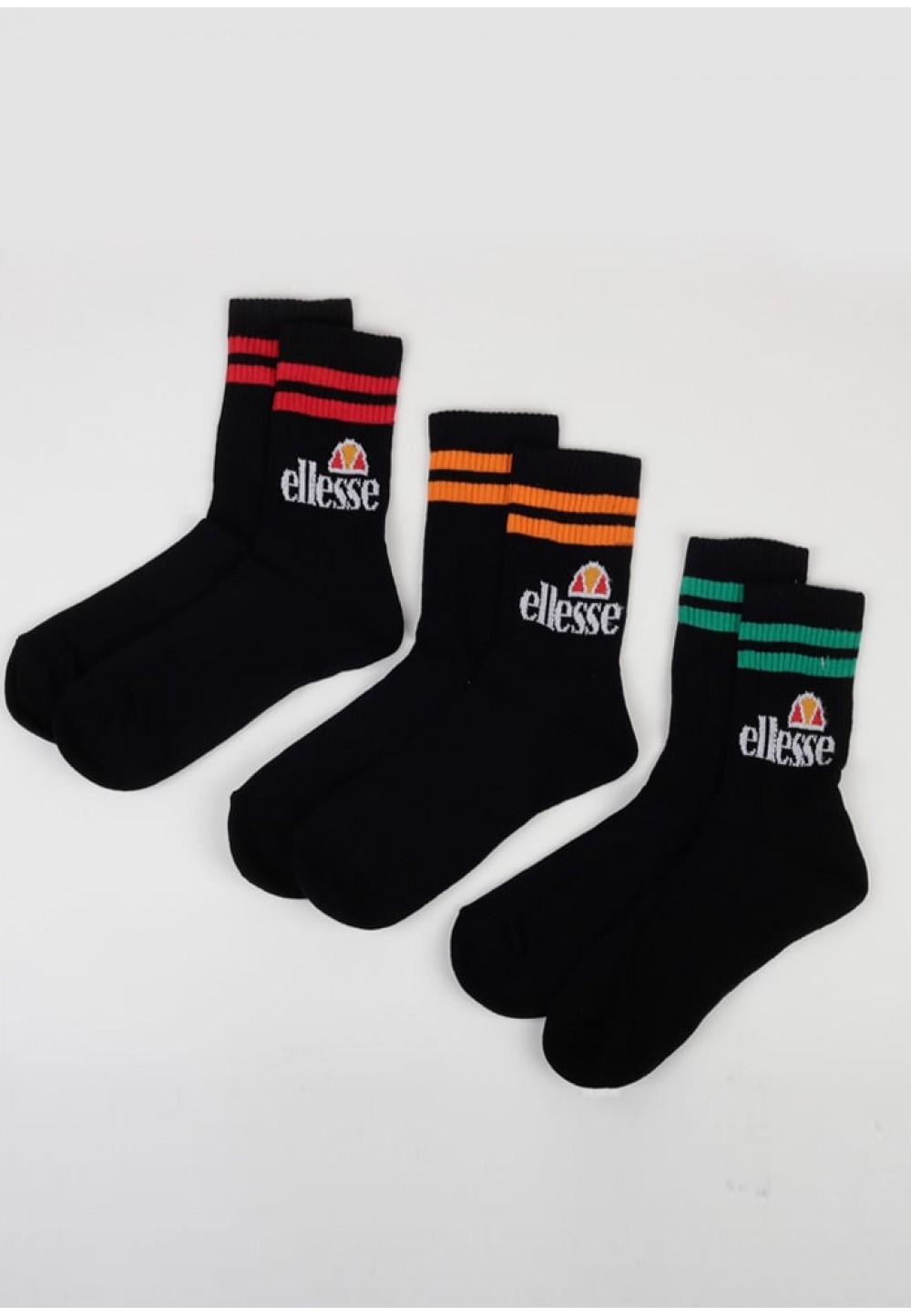 Черные стильные мужские носки