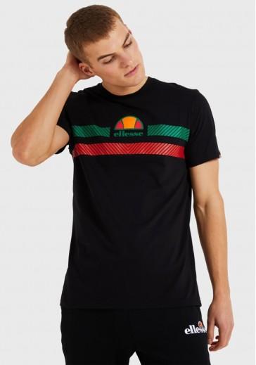 Черная хлопковая футболка