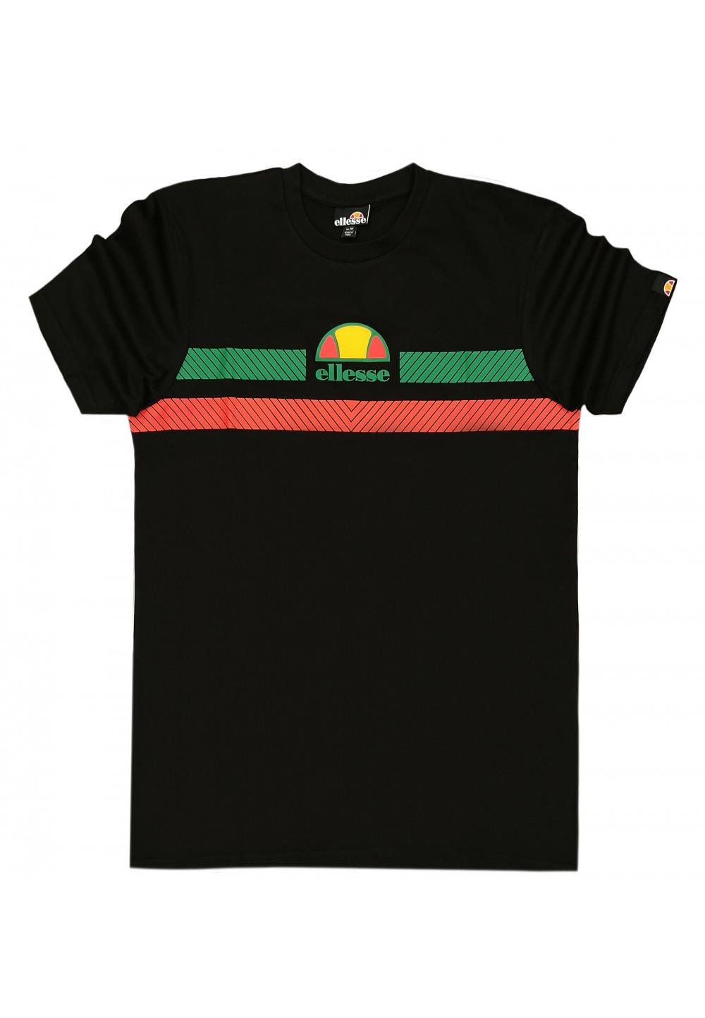 Чорна футболка з бавовны