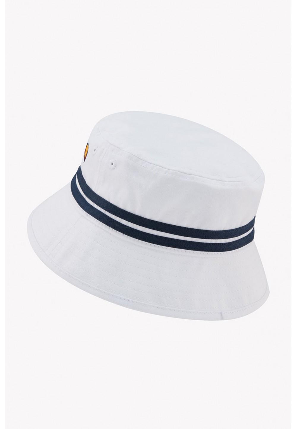 Белая панама striped