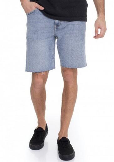 Мужские джинсовые шорты средней длинны