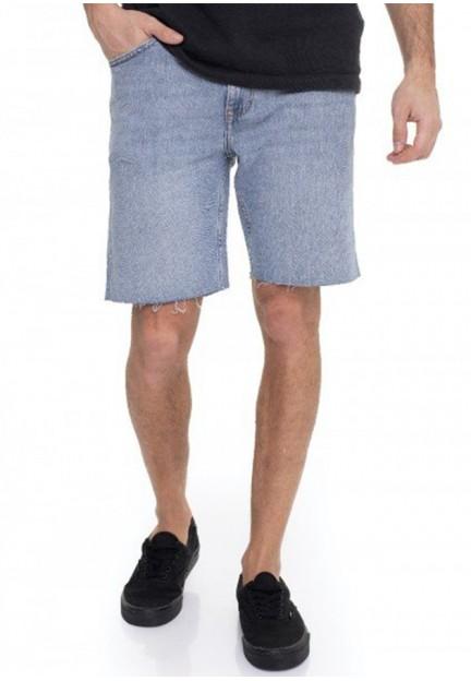 Мужские джинсовые шорты средней длины