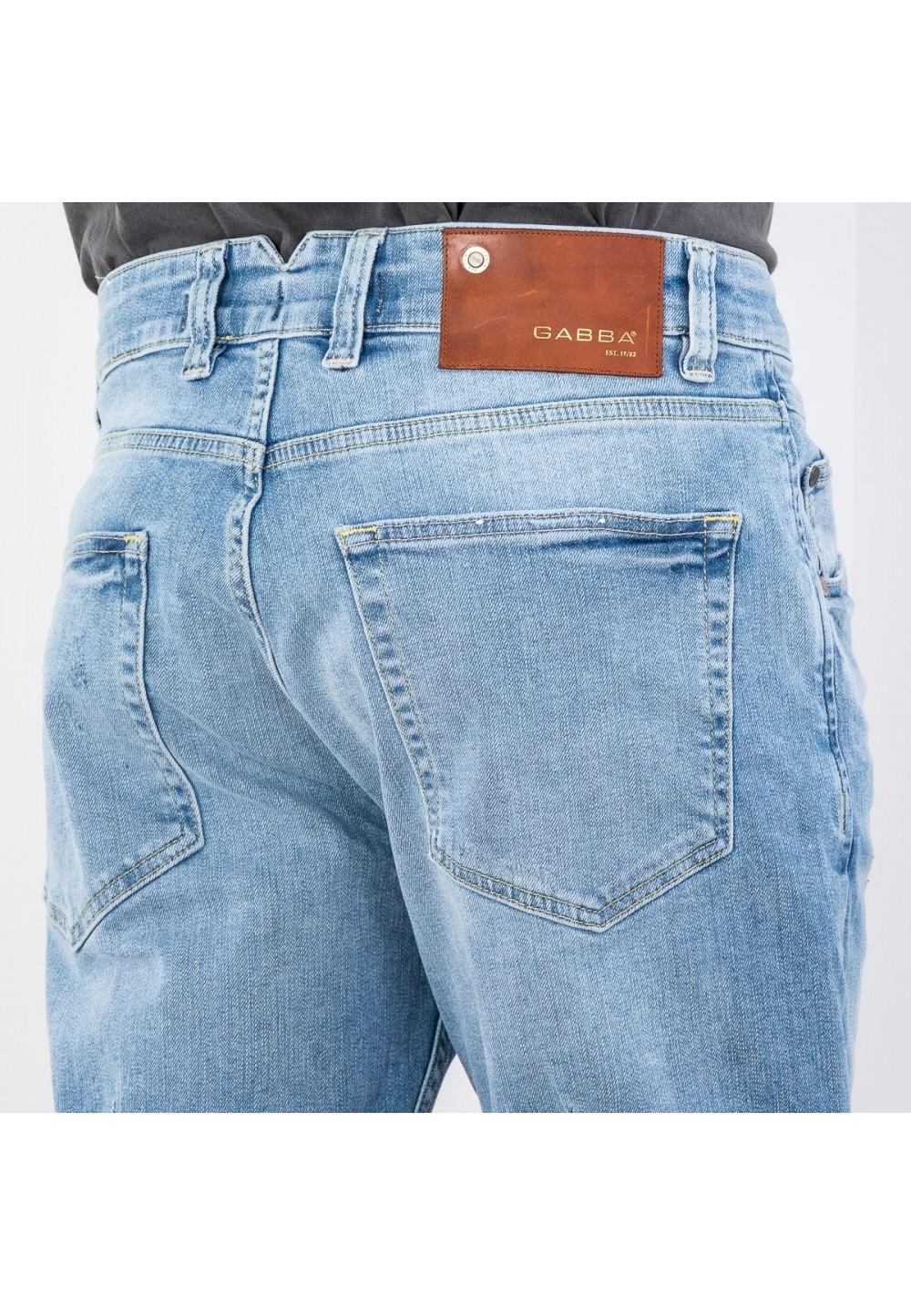 Легкие джинсовые шорты Anker K2614