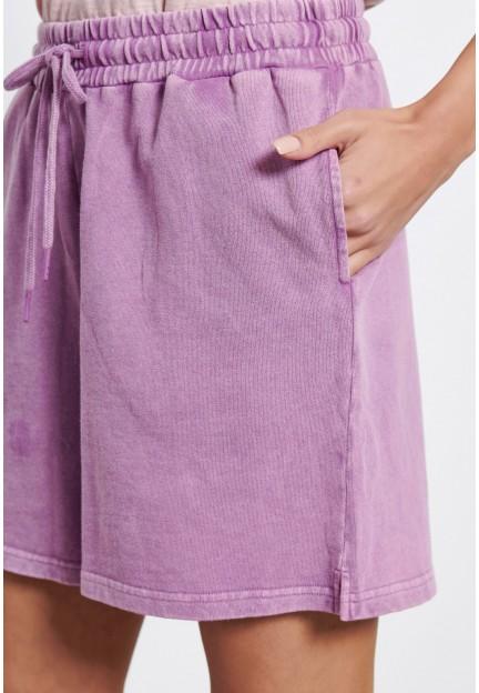 Женские трикотажные шорты из хлопка