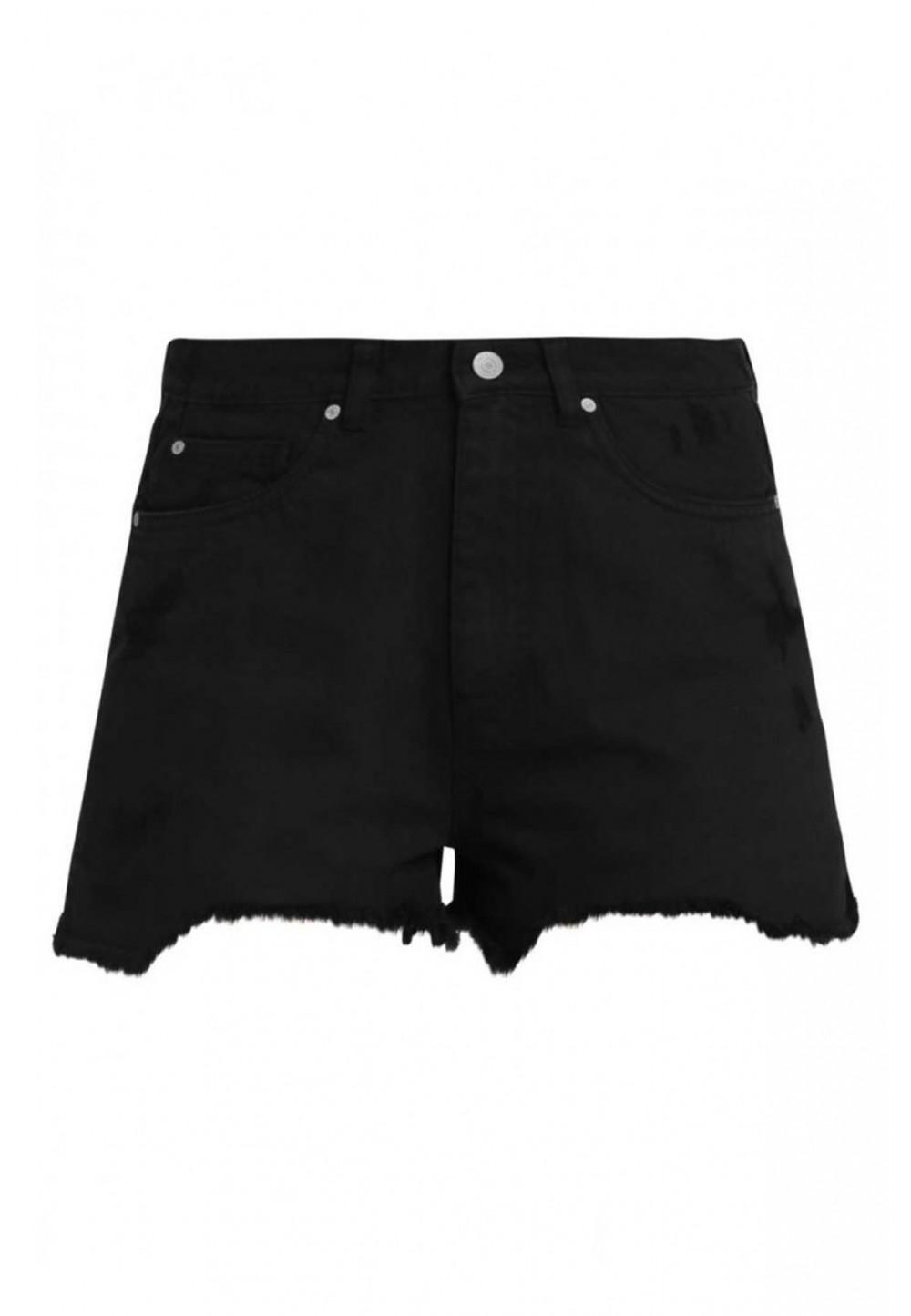 Шорты джинсовые с рваным низом
