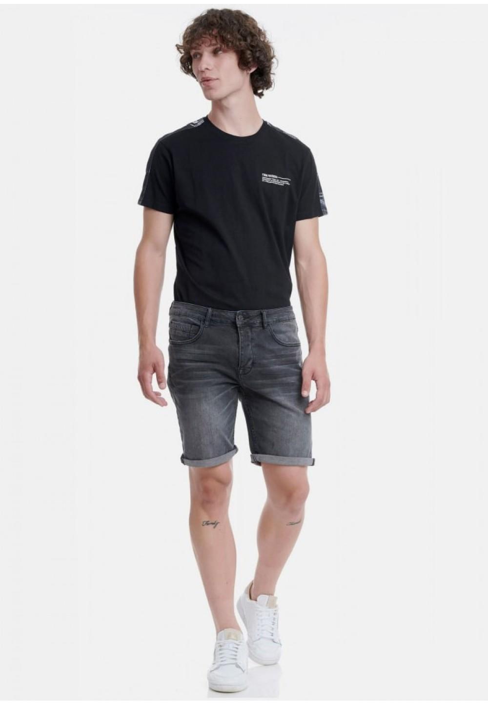 Шорты темно-серый джинс