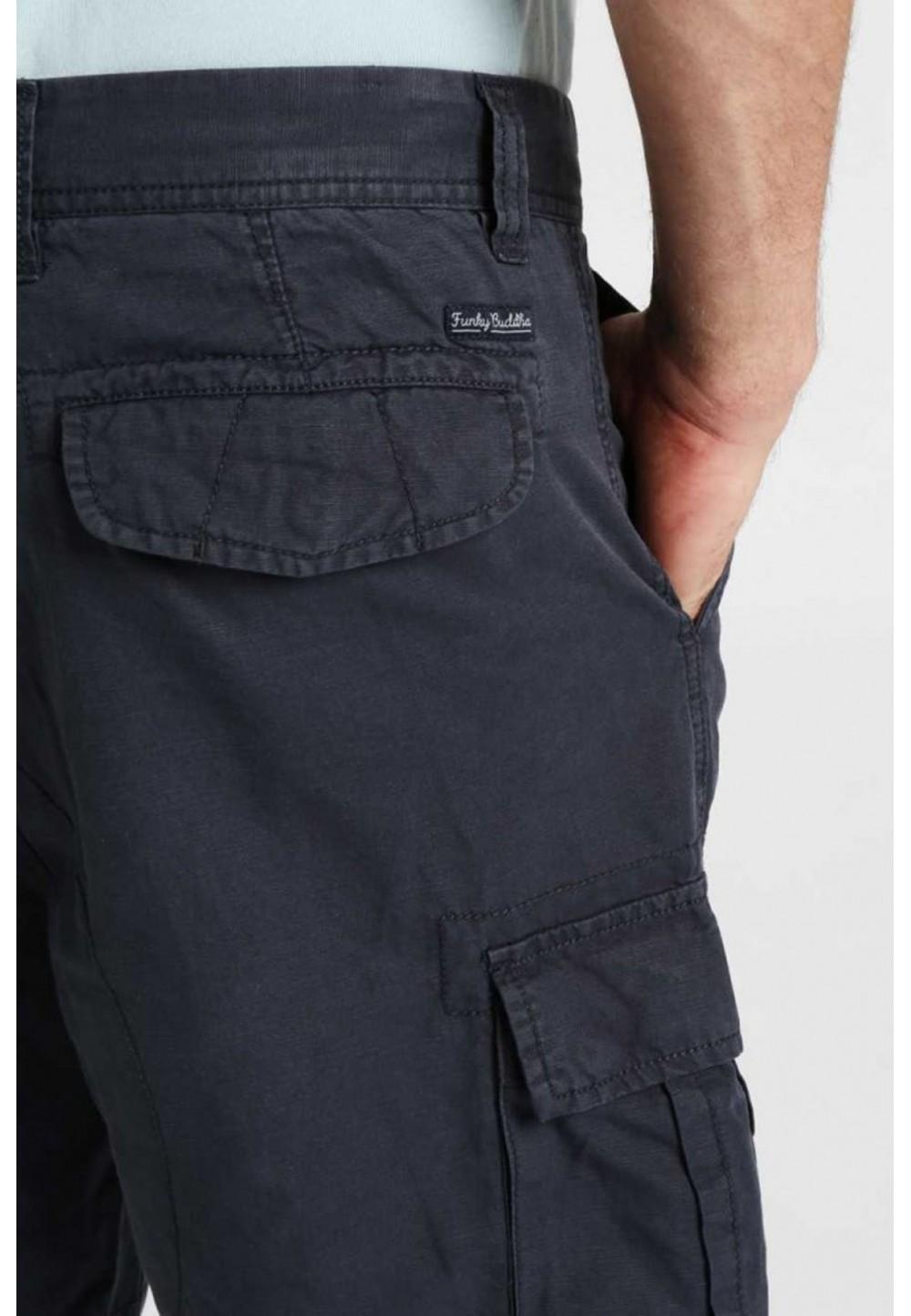 Шорты темно-серые с карманами