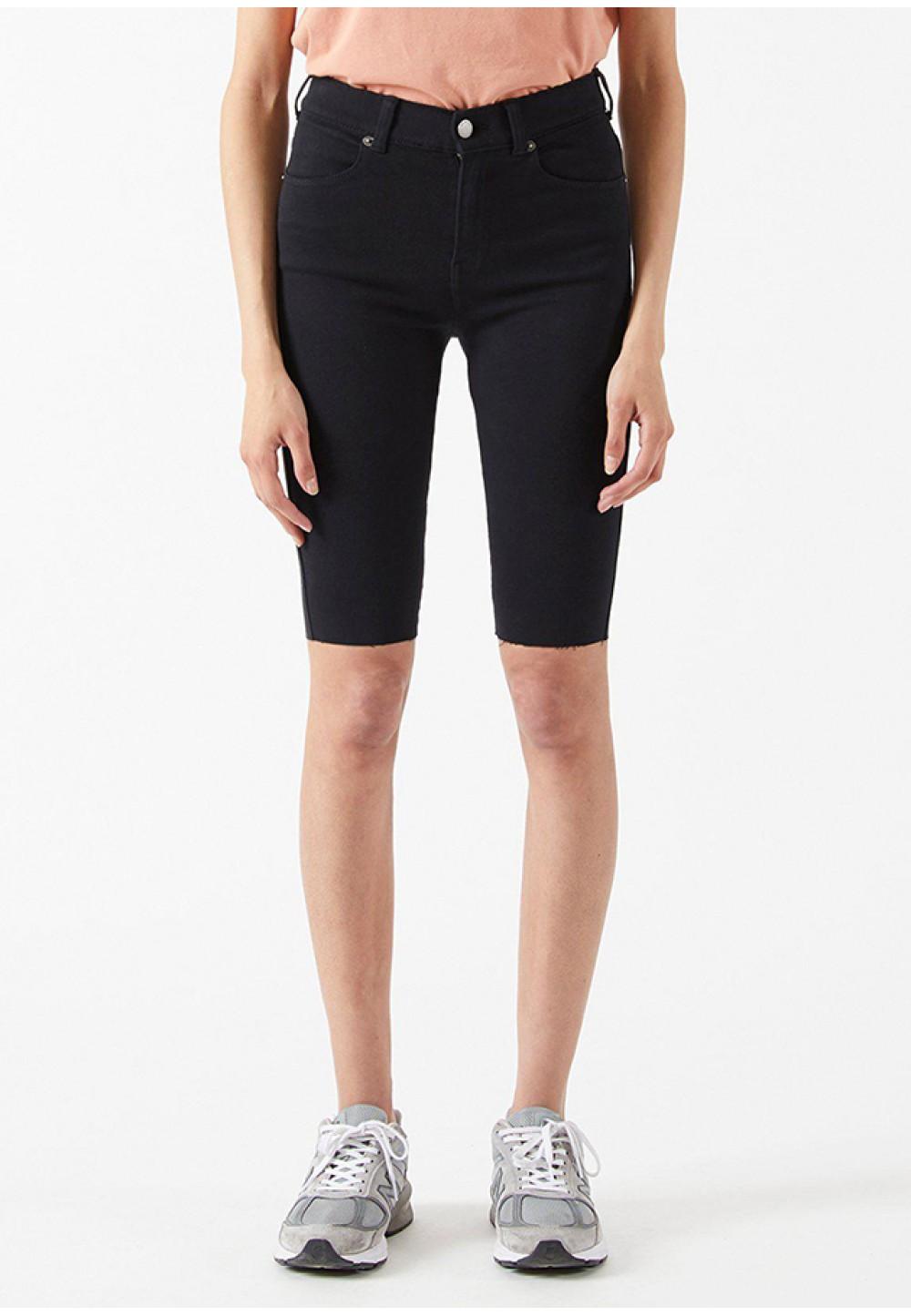 Чорні жіночі шорти до колін