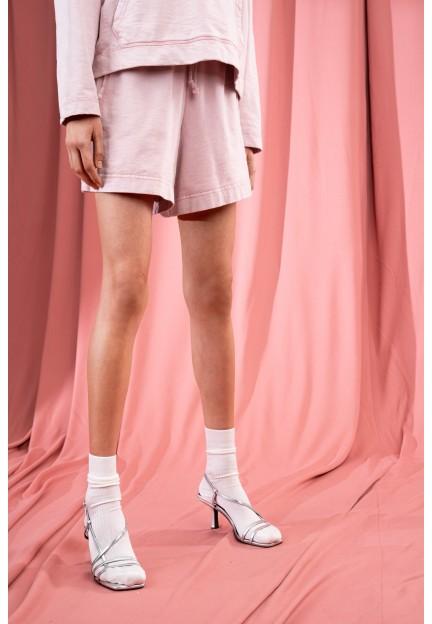 Рожеві трикотажні шорти LOVIN