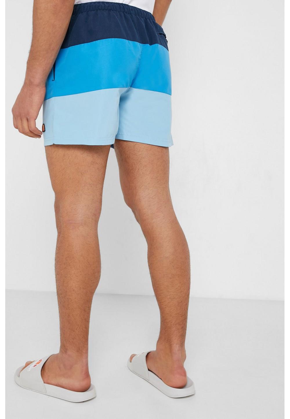 Трехцветные шорты striped