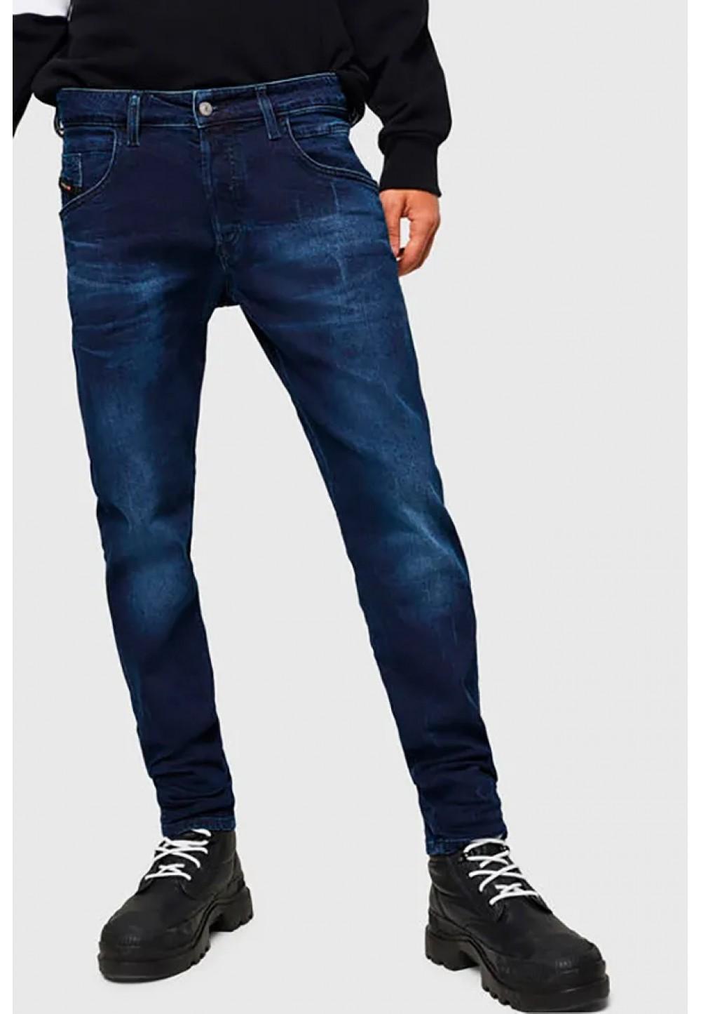 Синие джинсы D-Bazer